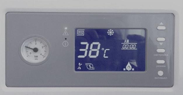 Индикатор температуры котла