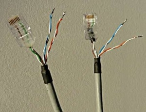 Подключение IP видеокамеры по одному кабелю