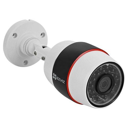 Цилиндрическая ip видеокамера для улице или внутри помещения