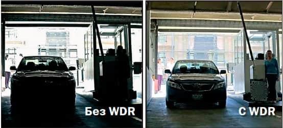 WDR- широкий динамический диапозон в камерах видеонаблюдения