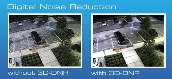 3D-DNR в камерах видеонаблюдения