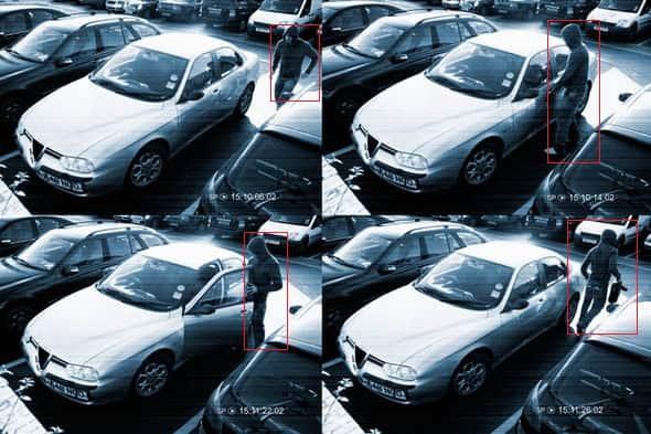 Запись по движению. Видеонаблюдение за авто.