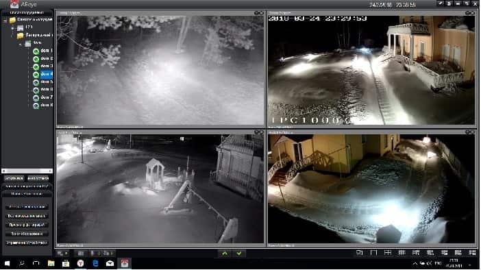 Программы для удаленного видеонаблюдения через интернет
