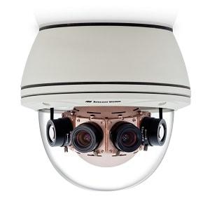 Панорамная видеокамера с 4 объективами