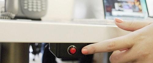 Тревожная стационарная кнопка (КТС) для охранной сигнализации