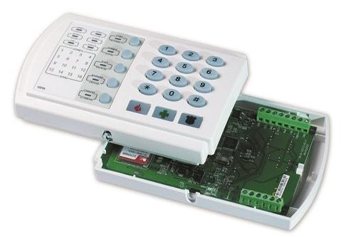 Оборудование ОПС. Отвечает за сбор и обработку информации, которая приходит от датчиков пожарной сигнализации.