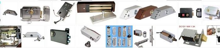 Электромагнитные и электромеханические замки скуд