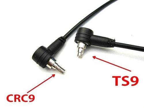 Разъемы могут быть одного из двух типов: CRC9 или TS9. Они очень схожи между собой по своей конструкции. TS9 имеет больший диаметр. Поэтому, возможно, придется покупать специальный переходник.