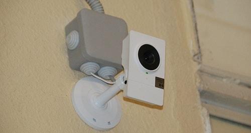 Web камера в подъезде