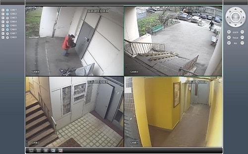 Камеры видеонаблюдения в подъезде