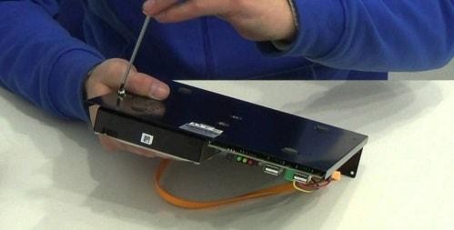 Установка жесткого диска, настройка видеорегистратора