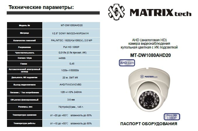 Расчет системы видеонаблюдения, сила тока