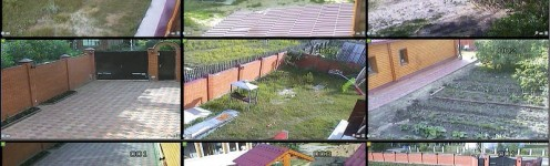 Видеонаблюдения для частного дома