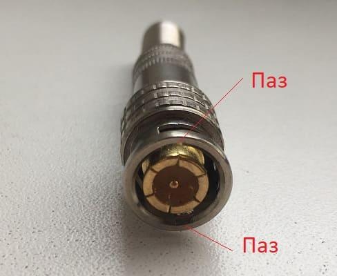 BNC разъем, коннектор для видеонаблюдения