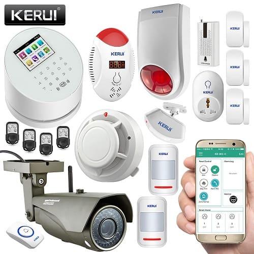 GSM ip камеры видеонаблюдения с cигнализацией