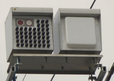 Стрелка – фотокамера, функционирующая совместно с радаром.