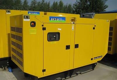 AKSA контейнерная электростанция