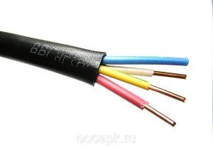 Самым лучшим решением этой задачи является выбор провода с метками ВВГнг.