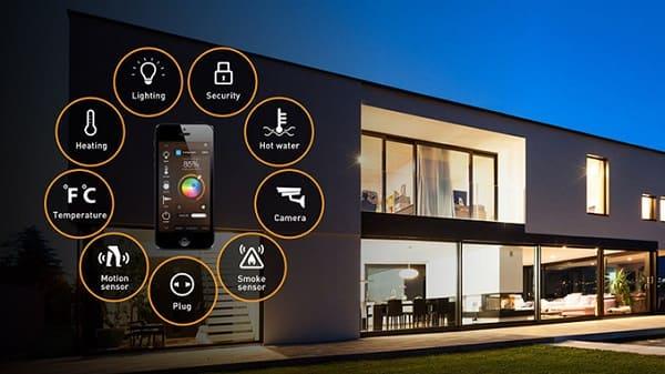 Возможности управления систем умный дом