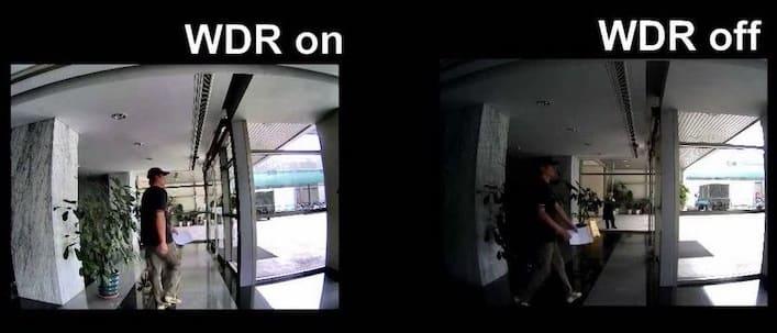 WDR в камерах видеонаблюдения