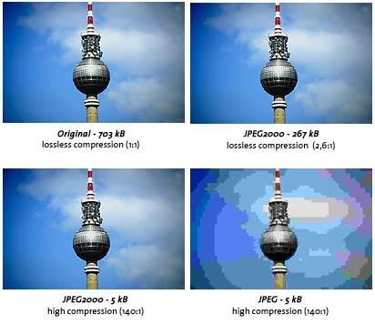 JPEG-2000 сравнение