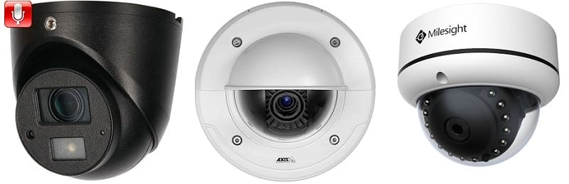 Антивандальные камеры видеонаблюдения: Купольные и Цилиндрические
