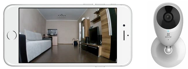 Беспроводная мини камера для скрытого видеонаблюдения