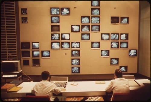 Первая система видеонаблюдения