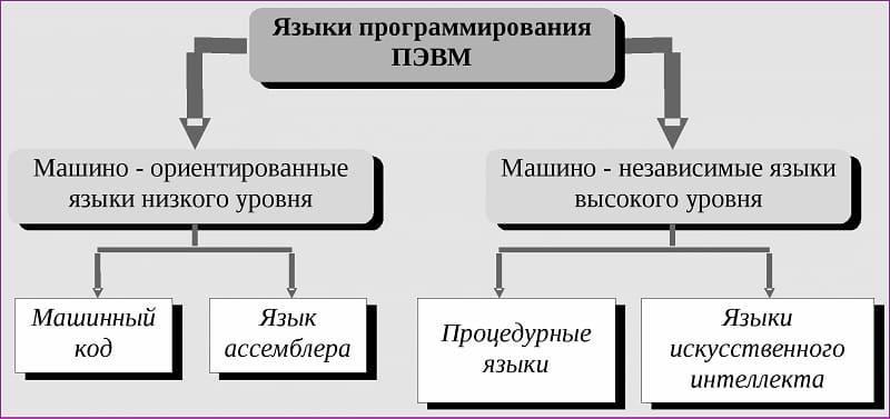 Языки программирования высшего уровня