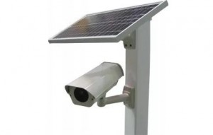 Уличная автономная камера, работающая от солнечной батареи