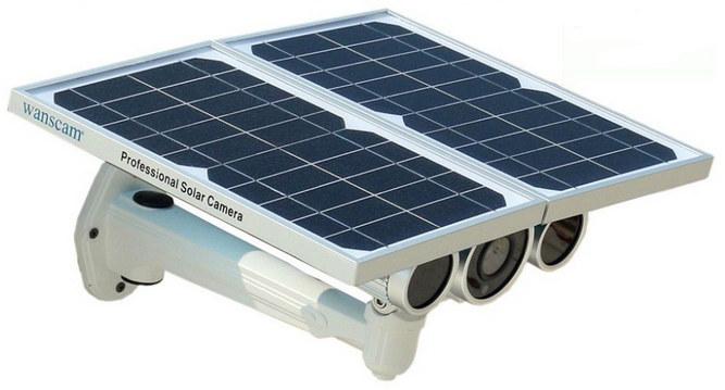 ip камера, работающая от солнечной батареи.