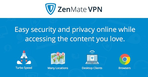 Плагины в браузере FireFox: ZenMate VPN