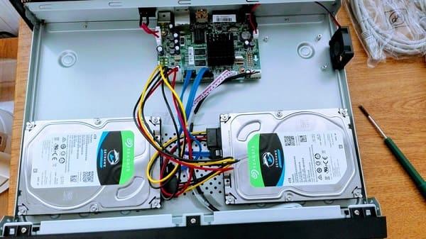 nvr с двумя жесткими дисками