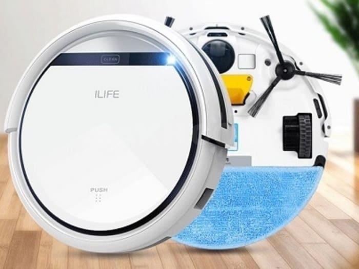 Ilife v50 - робот-пылесос, обзор технических характеристик