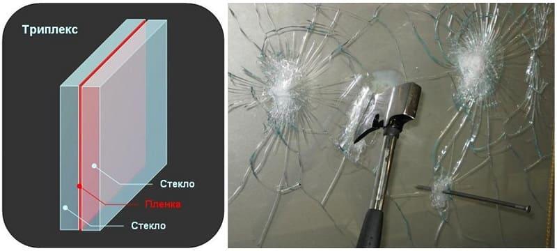 Закалённое стекло подвергается специальной термической и химической обработке