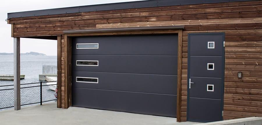 Секционные ворота АЛЮТЕХ – надежная защита бизнеса, гаража и дома