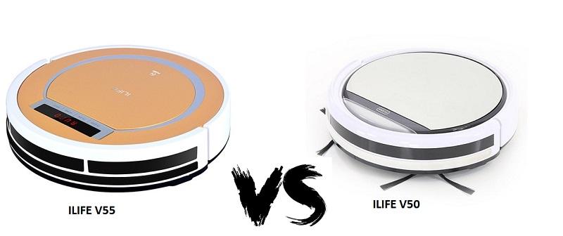 Что лучше ilife V50 или V55? Битва бюджетных робот пылесосов