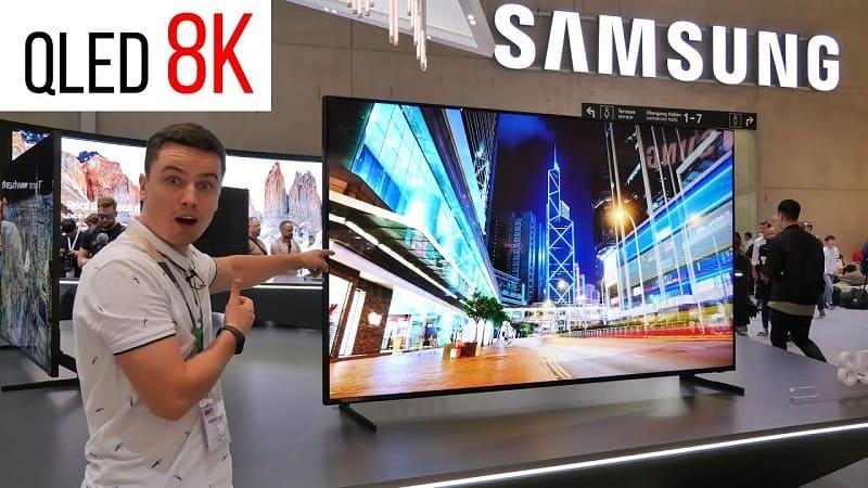Samsung 8k телевизор - Разрешение будущего уже реальность