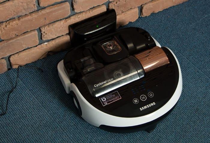 Обзор робота-пылесоса Samsung VR20H9050UW