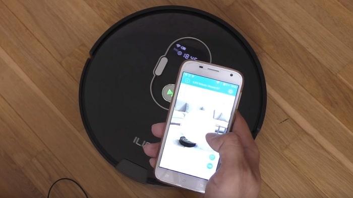 Приложение для робота пылесоса Ilife