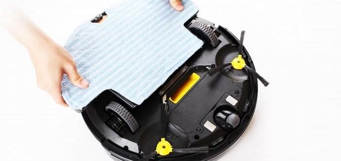 Обслуживание роботов-пылесосов - Какие элементы нуждаются в чистке?