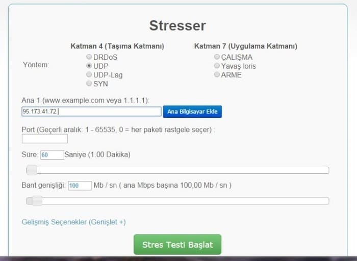 Что такое IP stresser? Отличие от ботнета