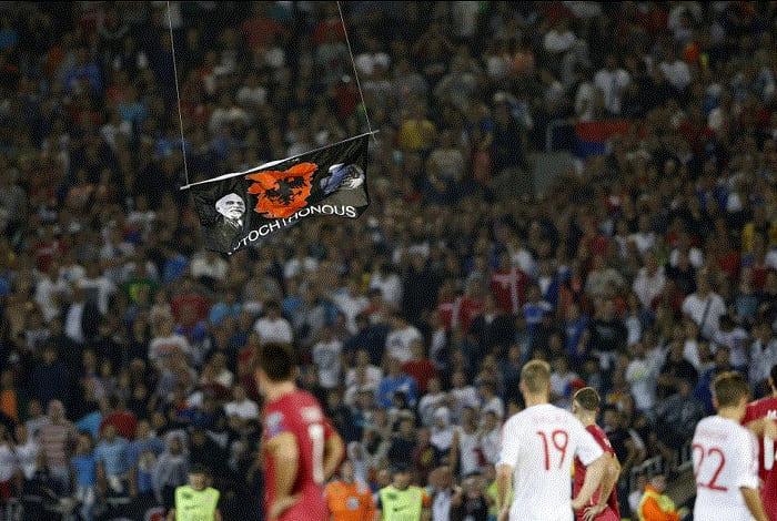 Сербия-Албания-Футбол
