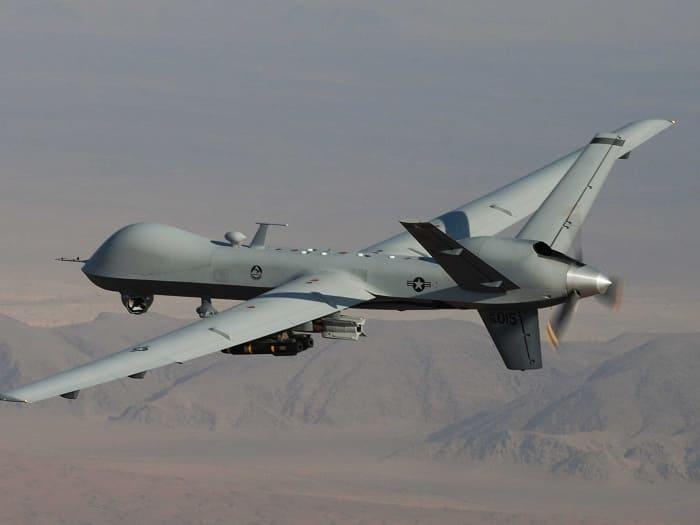 Американский дрон в Ираке