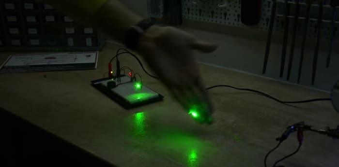 Как работает лазерная сигнализация