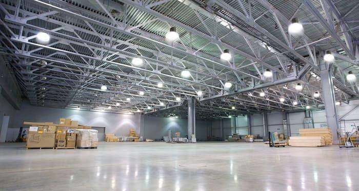 Промышленный светодиодный прожектор - Освещение промышленных зданий и сооружений