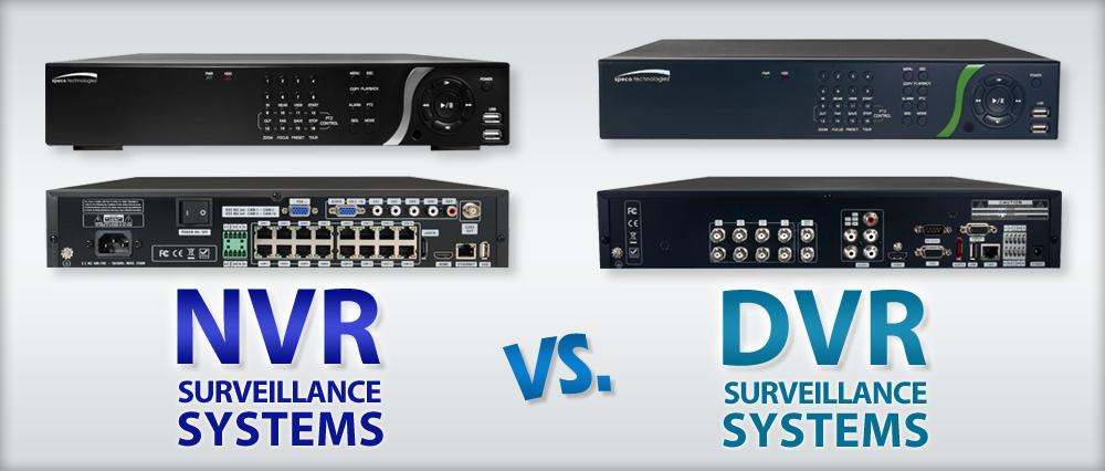 DVR и NVR видеорегистратор