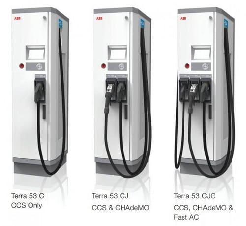 Станция зарядки CCS