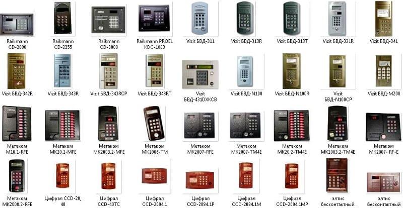 Как узнать код домофона по адресу и модели