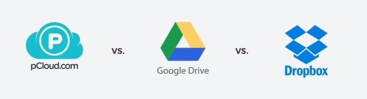 pCloud, Google Drive, DropBox - Лучшие облачные хранилища